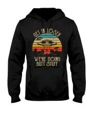 Get In Loser Alien UFO Shirts Hooded Sweatshirt thumbnail