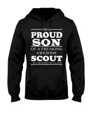 I'm A Proud Son Of A Freaking Awesome Scout Hooded Sweatshirt thumbnail