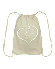 HEART HORSE Drawstring Bag thumbnail