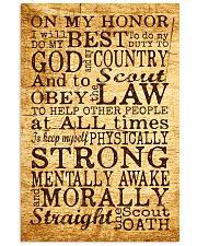 Scout Oath 11x17 Poster front