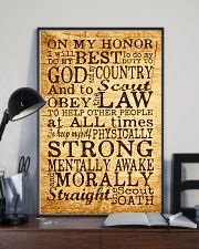 Scout Oath 11x17 Poster lifestyle-poster-2