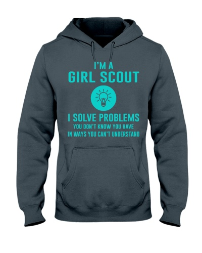 I'm a Girl Scout I solve problems