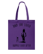 SHE LIVED HAPPILY EVER AFTER Tote Bag thumbnail