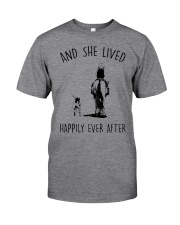 SHE LIVED HAPPILY EVER AFTER Classic T-Shirt front