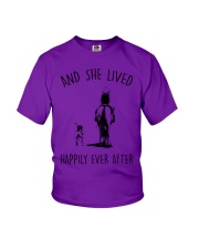 SHE LIVED HAPPILY EVER AFTER Youth T-Shirt thumbnail