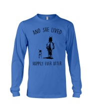 SHE LIVED HAPPILY EVER AFTER Long Sleeve Tee thumbnail
