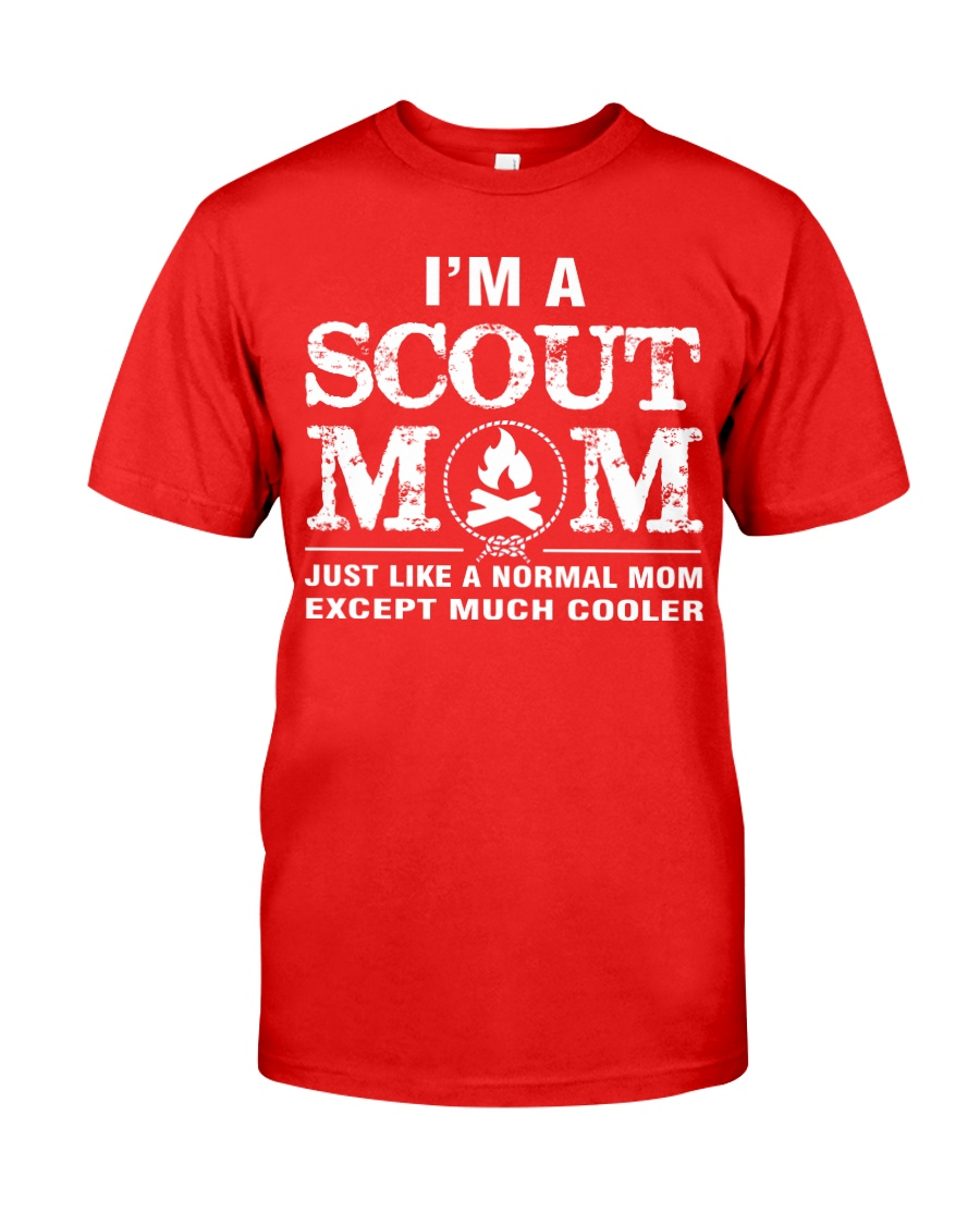 I'm a Scout Mom Classic T-Shirt