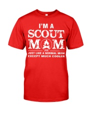 I'm a Scout Mom Classic T-Shirt front
