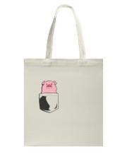 PIG LOVER Tote Bag thumbnail