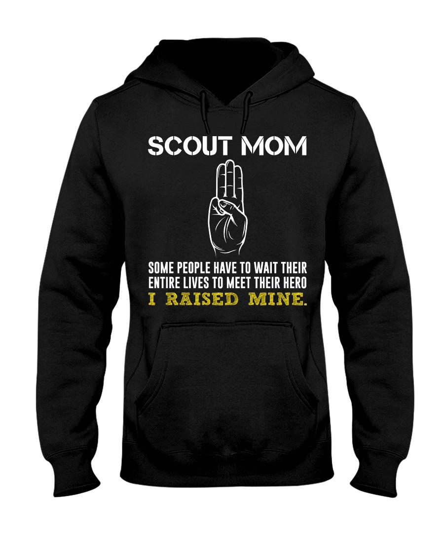 I Raised Mine Hooded Sweatshirt
