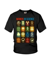 WOMEN IN SCIENCE Youth T-Shirt thumbnail