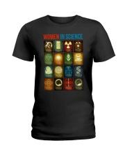 WOMEN IN SCIENCE Ladies T-Shirt thumbnail