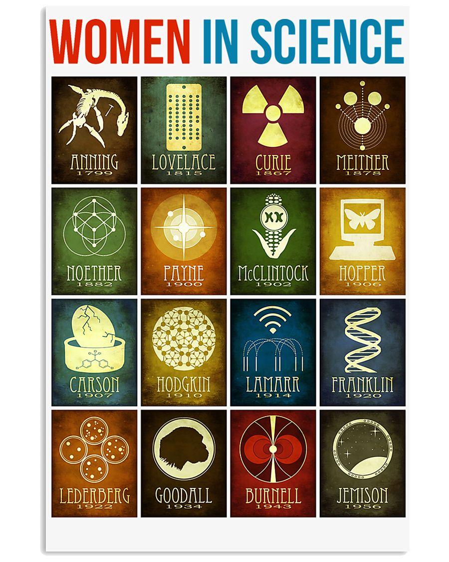 WOMEN IN SCIENCE 16x24 Poster