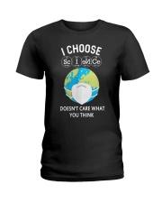 I CHOOSE SCIENCE Ladies T-Shirt thumbnail
