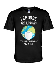 I CHOOSE SCIENCE V-Neck T-Shirt thumbnail