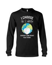 I CHOOSE SCIENCE Long Sleeve Tee thumbnail