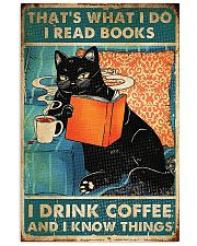 That's What I Do I Read Books 11x17 Poster front