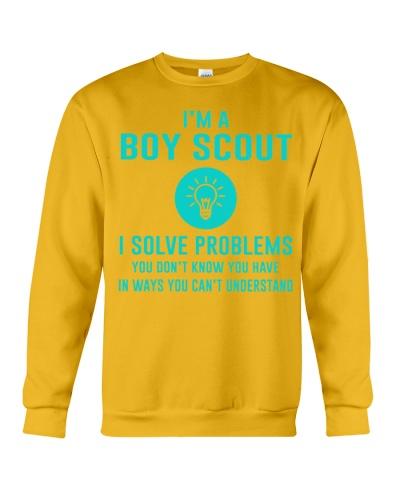 I'm a Boy Scout I solve problems