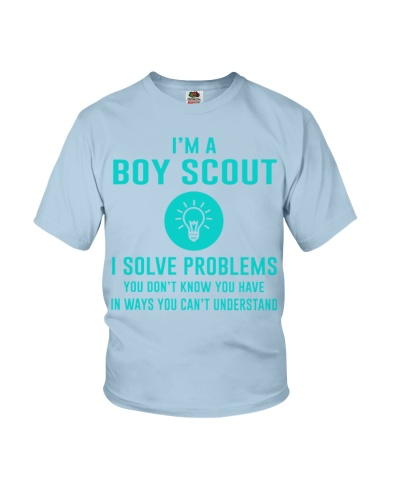 I'm a Boy Scout I solve problems