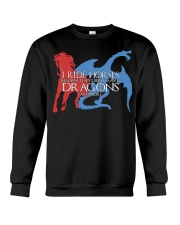 I RIDE HORSE Crewneck Sweatshirt tile