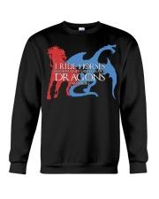 I RIDE HORSE Crewneck Sweatshirt thumbnail