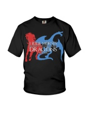 I RIDE HORSE Youth T-Shirt tile
