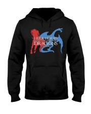 I RIDE HORSE Hooded Sweatshirt tile