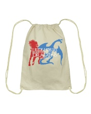 I RIDE HORSE Drawstring Bag tile