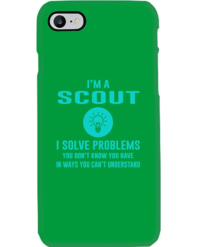 I'm a Scout I solve problems