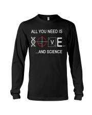 ALL YOU NEED IS LOVE AND SCIENCE Long Sleeve Tee thumbnail
