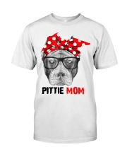 Pittie Mom Classic T-Shirt front