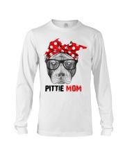 Pittie Mom Long Sleeve Tee thumbnail