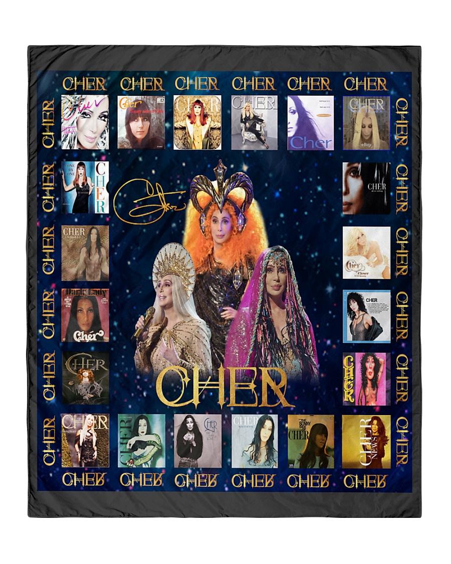 "Cher-Cherilyn Quilt 50""x60"" - Throw"