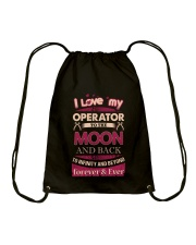 I love my Operator to the Moon Drawstring Bag tile