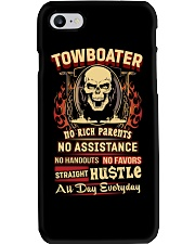 Towboater- Straight Hustle all day Shirt Phone Case thumbnail