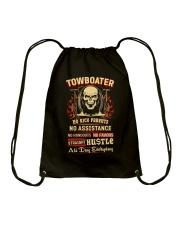 Towboater- Straight Hustle all day Shirt Drawstring Bag thumbnail