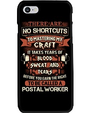 Earn the right to be a Postal Worker shirt Phone Case thumbnail