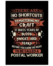 Earn the right to be a Postal Worker shirt 16x24 Poster thumbnail