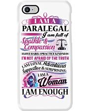 Awesome Paralegal Shirt Phone Case thumbnail