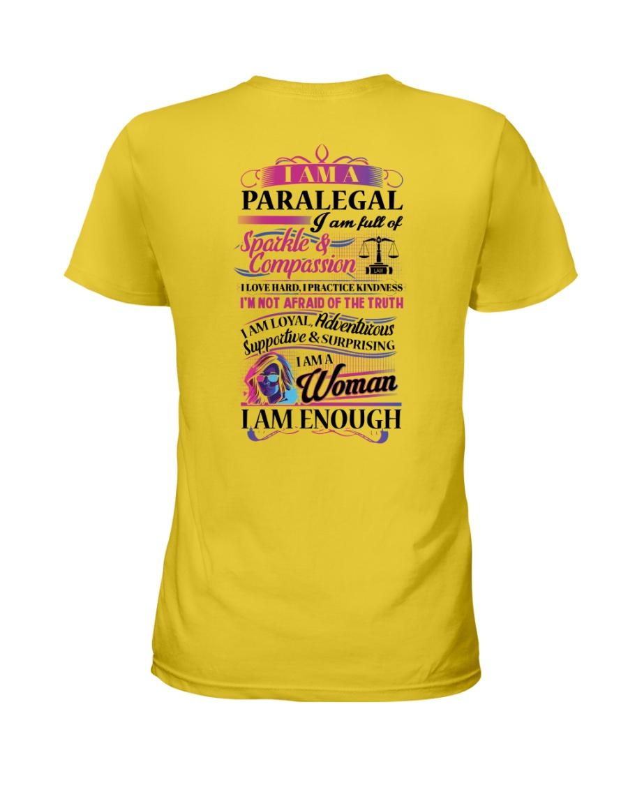Awesome Paralegal Shirt Ladies T-Shirt