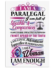 Awesome Paralegal Shirt 16x24 Poster thumbnail