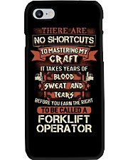 Earn the right to be a Forklift Operator shirt Phone Case thumbnail
