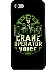 Don't make me use my Crane Operator Voice Shirt Phone Case tile