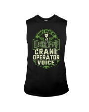 Don't make me use my Crane Operator Voice Shirt Sleeveless Tee tile
