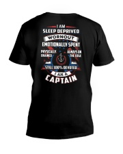 Devoted Captain Shirt V-Neck T-Shirt thumbnail