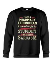 Sarcastic Pharmacy Technician Shirt Crewneck Sweatshirt thumbnail