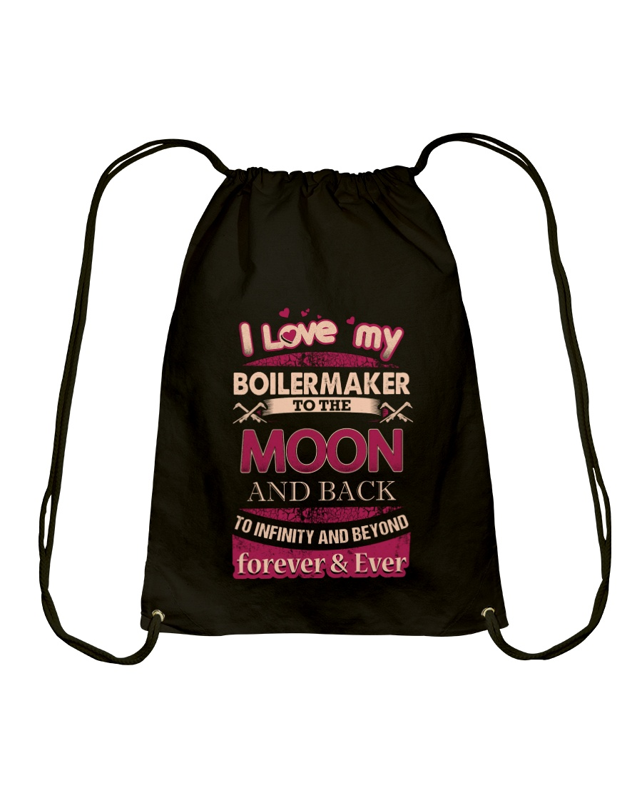 I love my Boilermaker to the Moon Drawstring Bag