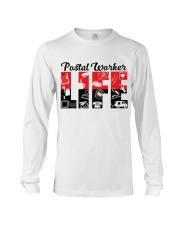 Awesome Postal Worker Shirt Long Sleeve Tee thumbnail