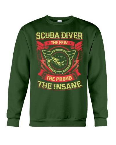 Insane Scuba Diver Shirt