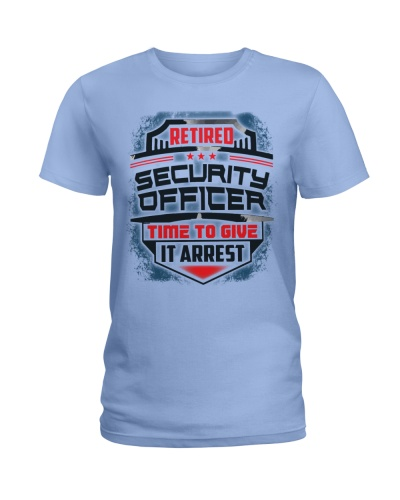 Proud Retired Security Officer Shirt